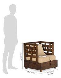 Solid wood Sofa Chiseler