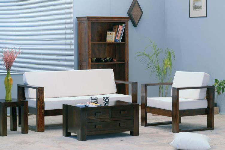 Solid wood sofa set Morphie