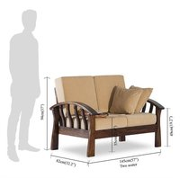 Solid wood Sofa set Monarch