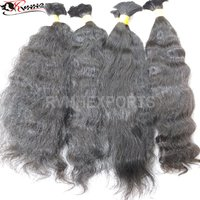 100% Natural Bulk Human Hair Weft For Sale