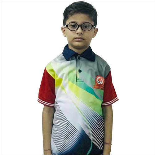 School Digital Printing T-Shirt