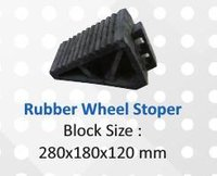 CORNER GUARDS & PARKING BLOCKS WITH RUBBER WHEEL STOPPER
