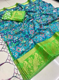 New  Raw Silk Saree