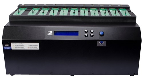 1-10 PCIe SSD (M2/U2) Duplicator and Sanitizer-PE1100