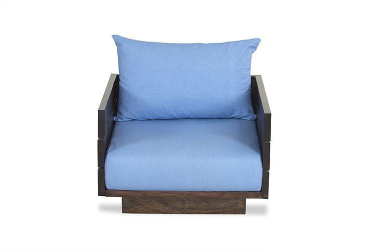 Solid wood Sofa set Azure
