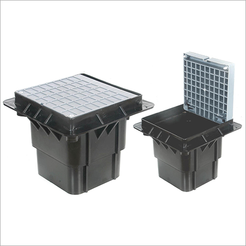 Square Polymer Earth Pit-Small