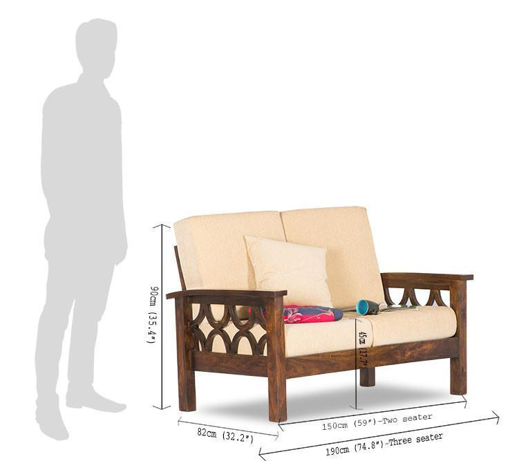 Solid Wood Sofa set Audister
