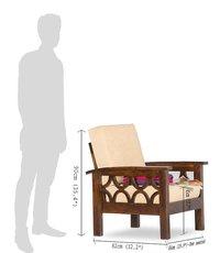 Solid Wood Sofa set Audister