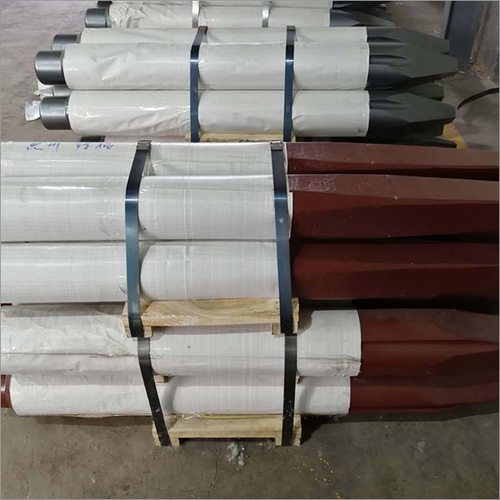 Red Drill Rod
