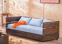 Solid wood sofa set Salver