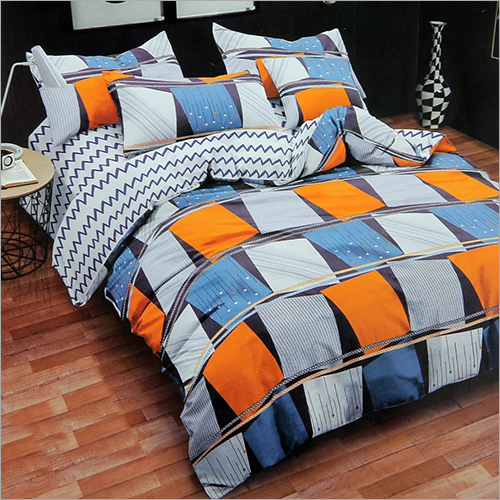 4 Piece Printed AC Quilt Set