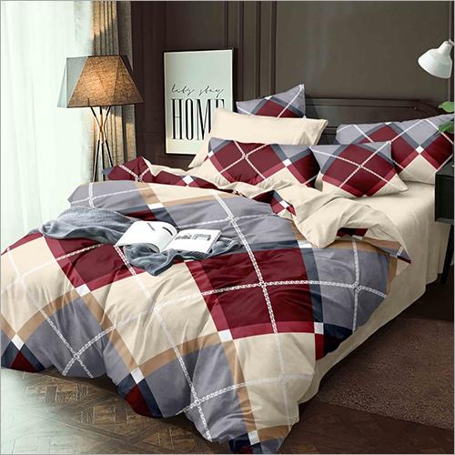 4 Piece Double Bed Quilt Set