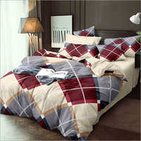 4 Piece Double Bed Quilt Set
