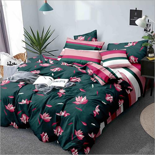 4 Piece AC Bed Comforter Quilt