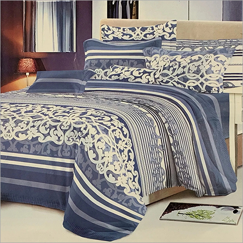 Hotel Double Bed Blossom Quilt