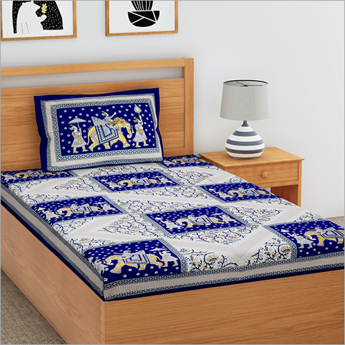 Single Printed Bedsheet