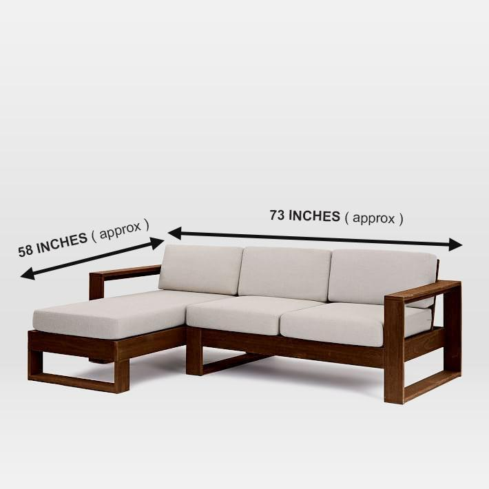 Solid wood sofa set MultiSets design