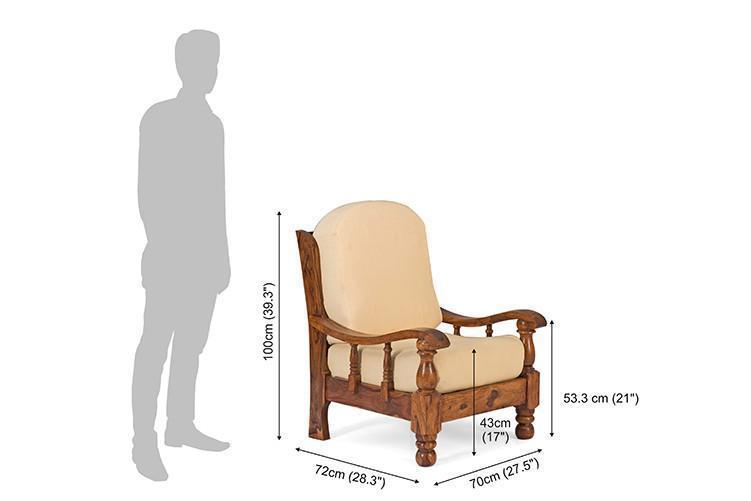 solid wood Sofa set Majesty