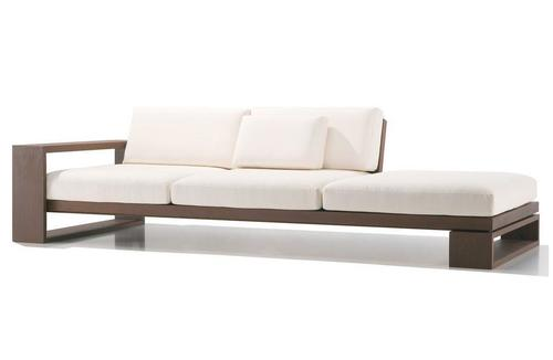 Solid wood modular Sofa