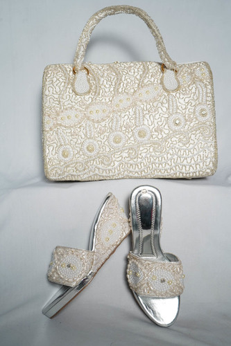 White Shoes & Bag