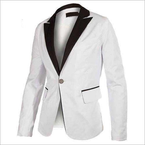 Mens White Blazer