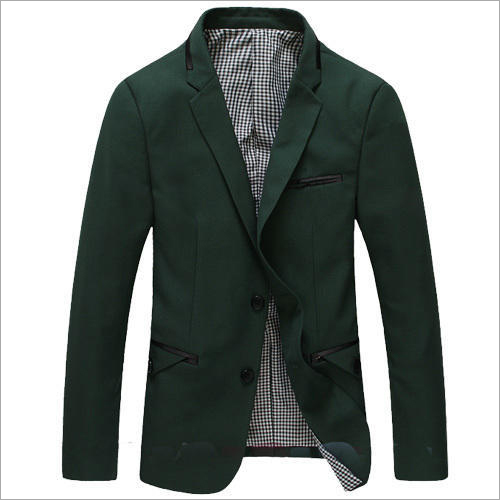 Mens Green Blazer