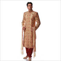 Zari Work Wedding Sherwani