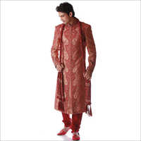 Mens Fine Embroidery Sherwani