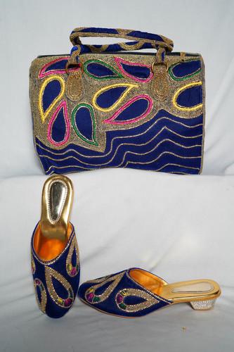 Embroidery Sandal & Bag