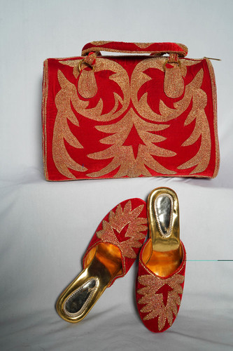 Red Weddings Shoes & Bag