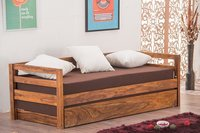 solid wood Sofa cum bed DownPal