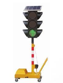 Solar Portable Traffic Signal Light