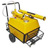 Mobile Foam Trolley 200Ltr