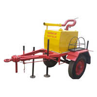 Mobile Foam Tank 200 Litre  With Foam Monitor