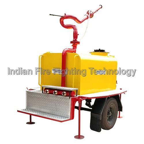 Mobile Foam Tank With Foam Monitor 2000 Litre