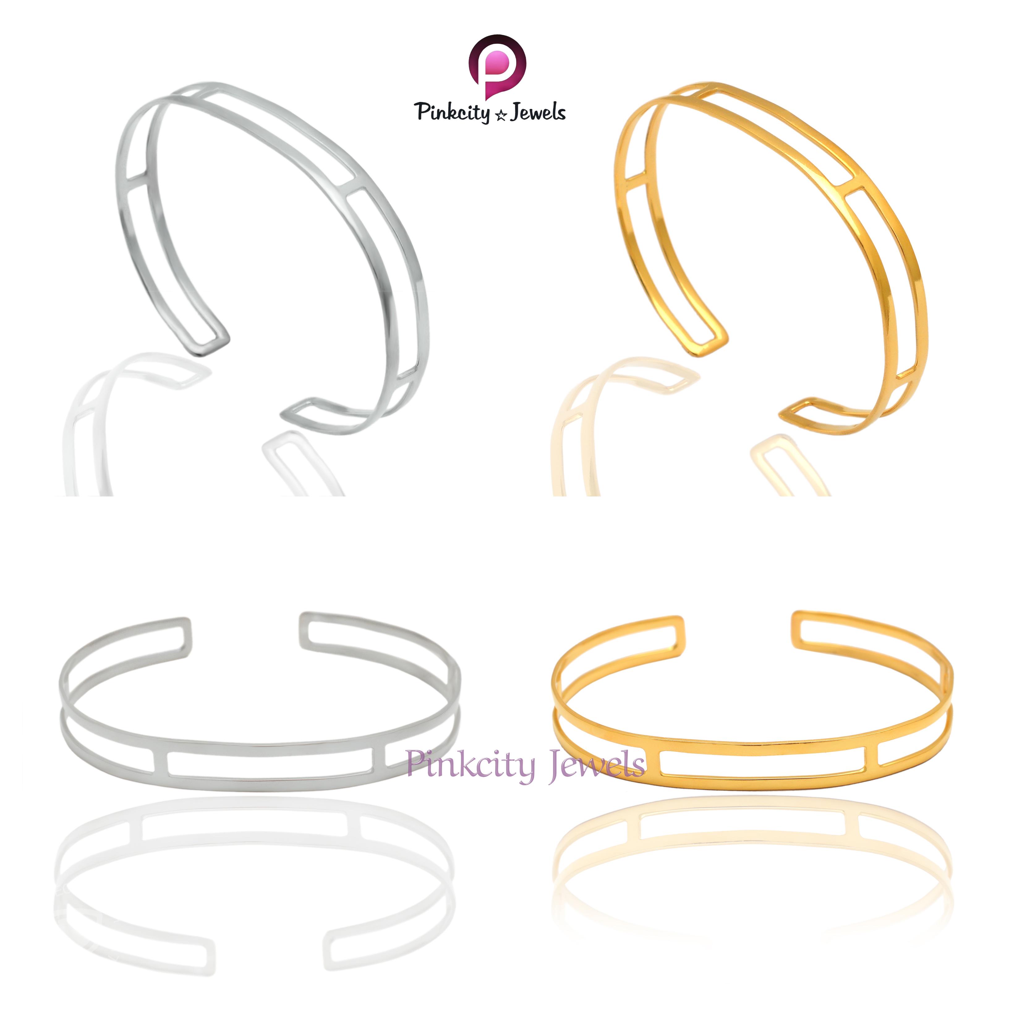 Plain 925 Silver  Bangle Jewelry