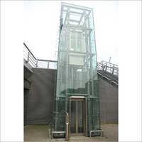 Mordern Glass Lift
