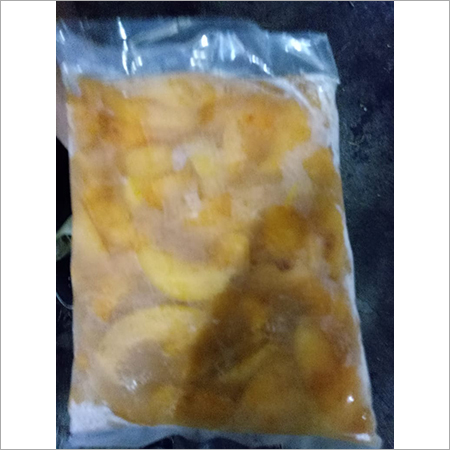 Frozen Peach Slice