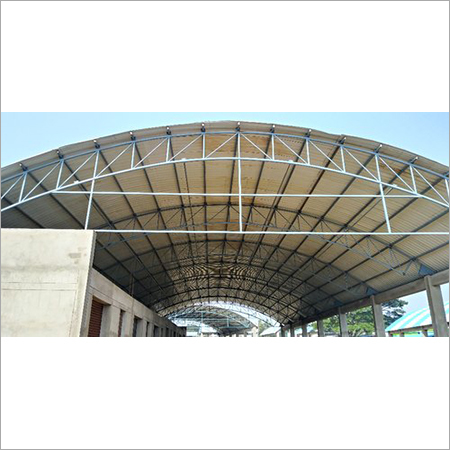 Arch Roof Shed