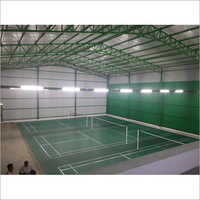 Sports Hall Roofing Shed