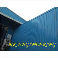 Galvanized Steel Roof Structure
