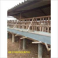 Goat Farming Platform Shed