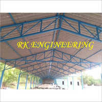 Mild Steel Poultry Form Shed