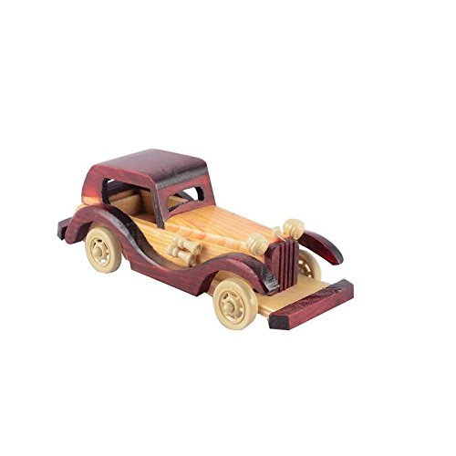 Handcarved Wooden Jeep Toy