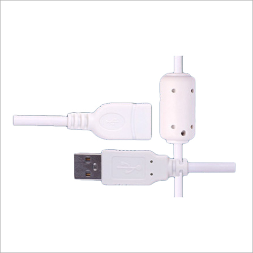 2 Amp White USB Cable