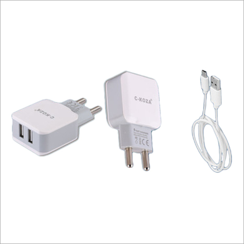 2.4 Amp 2 USB Adapter With Wire