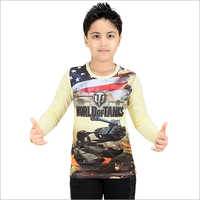 Boys Full Sleeve T-Shirt