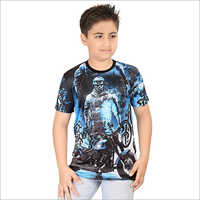 Boys Multi Color T-Shirt