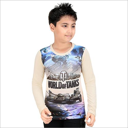 Boys Printed Casual T-Shirt