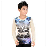 Boys Printed Casual T-Shirt